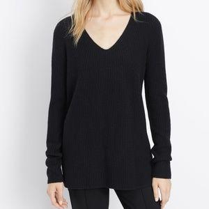 VINCE v-neck sweater black xxs